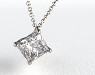 Platinum 0.25ct Diamond Pendant